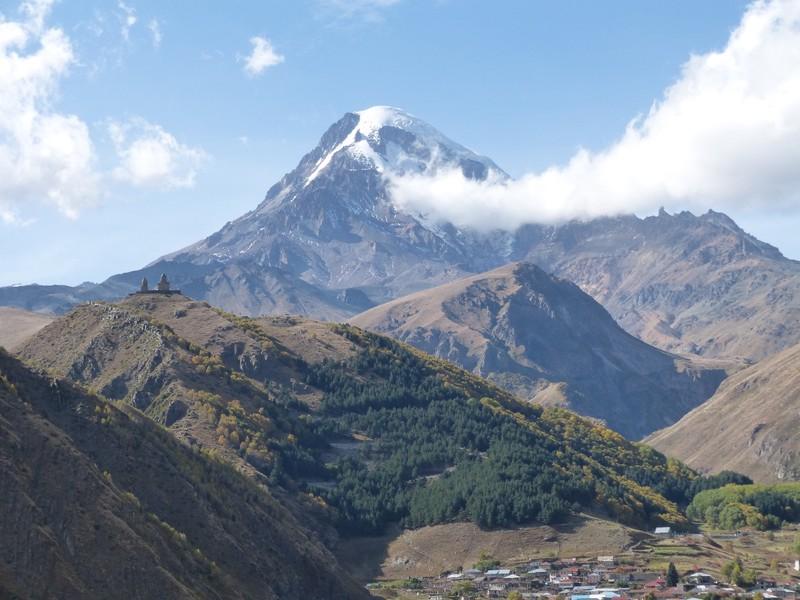 Mt Kazbeg