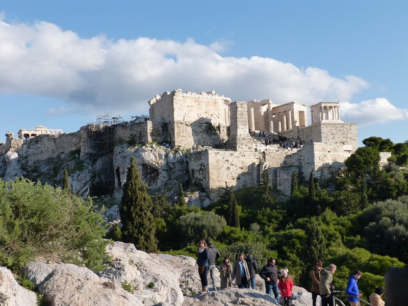Akropolis and Parthenon