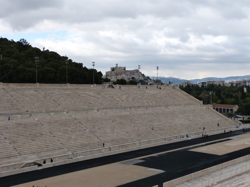 Parthenon from Stadium