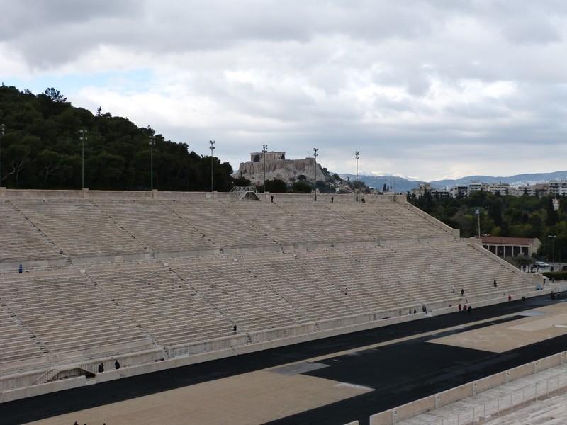 Parthenon from Stadium