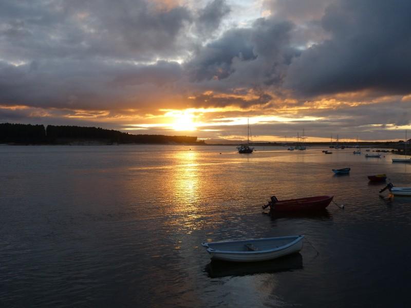 Findhorn Sunset