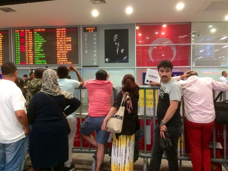 Istanbul Arrivals