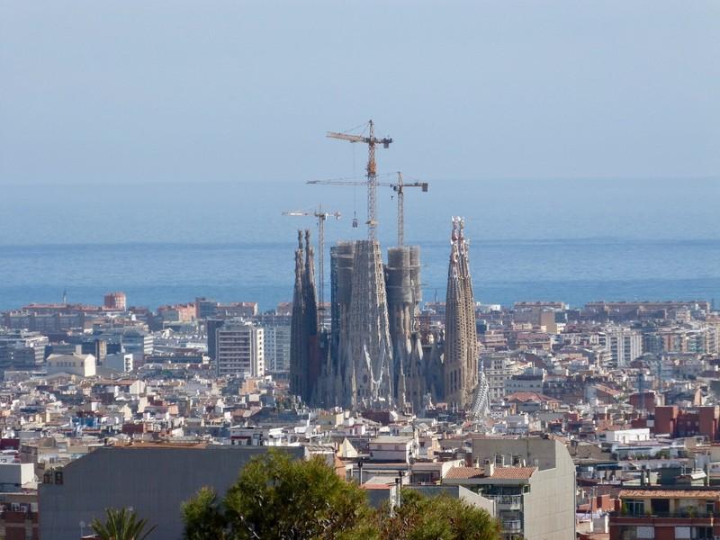 Barcelona Skyline, 2019