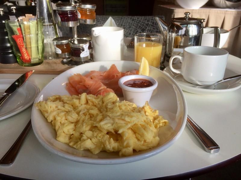 Glashaus Breakfast