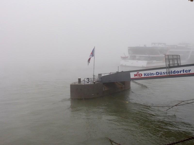 Fog on the Rhein