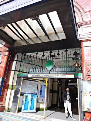 Edgware Road Bakerloo Line station