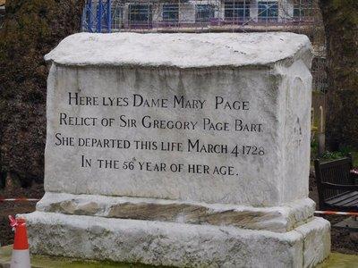 BUNHILL FIELDS Mary Page