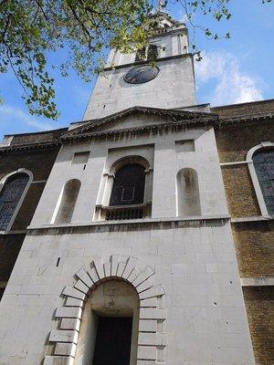 St James Church: west front