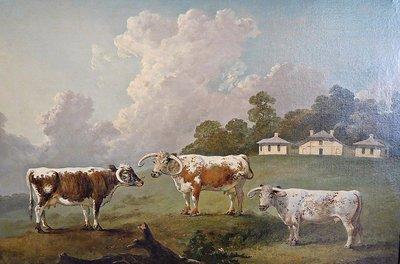 Kenwood Farm painting detail