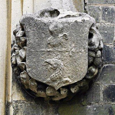 GATE 4hi St Michaels Church: Highgate School's crest