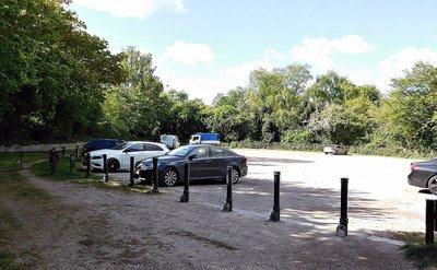 Jack Straws Castle car park