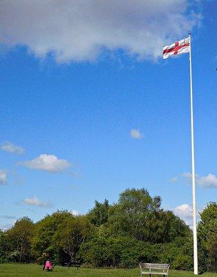 Hampstead Heath flagpole