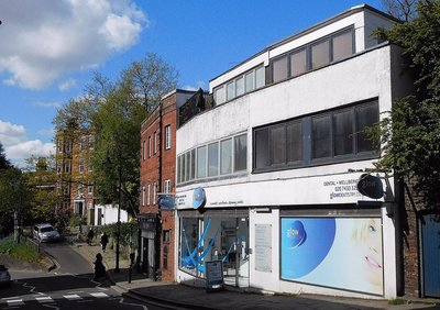 The former Hampstead Hi Fi shop