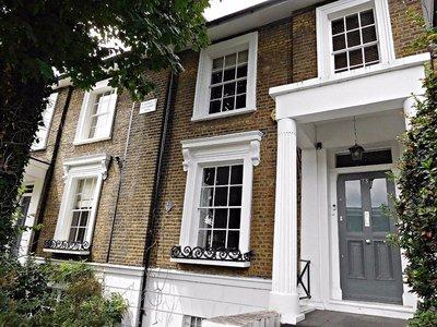 St James Cottages 1845  De Beauvoir Rd