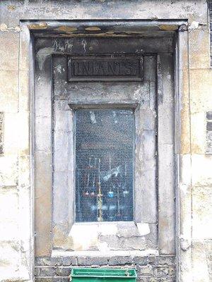 Mander organ factory old school entrance