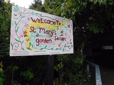 St Marys Secret Garden