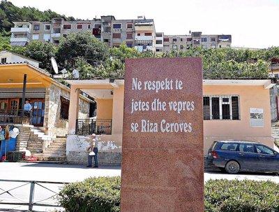 Polican: Monument to Riza Cerovë
