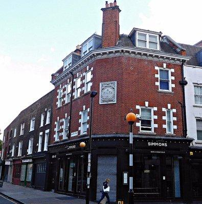 A former Finch pub on Compton Str