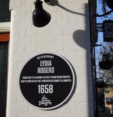 Turners Old Star:  Lydia Rogers plaque