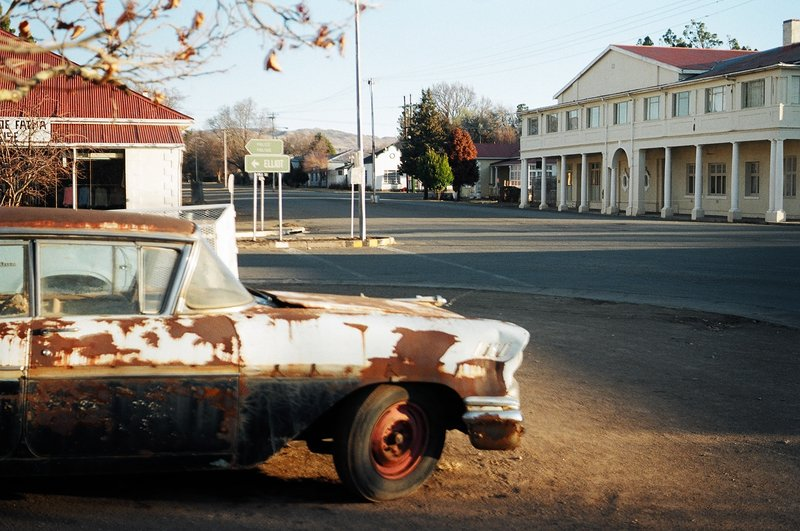 Downtown BARKLY EAST, South Africa 2003