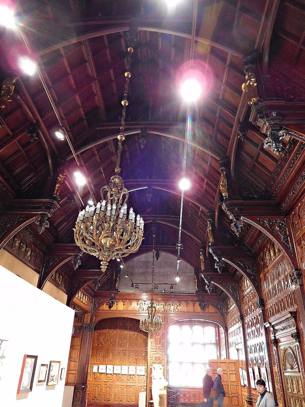 Two Temple Place: hammer beam roof