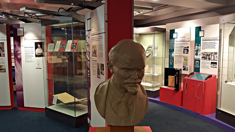 Lenin in Islington Museum