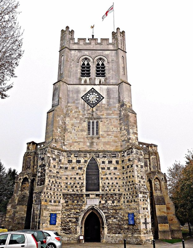 Waltham Abbey Church west front