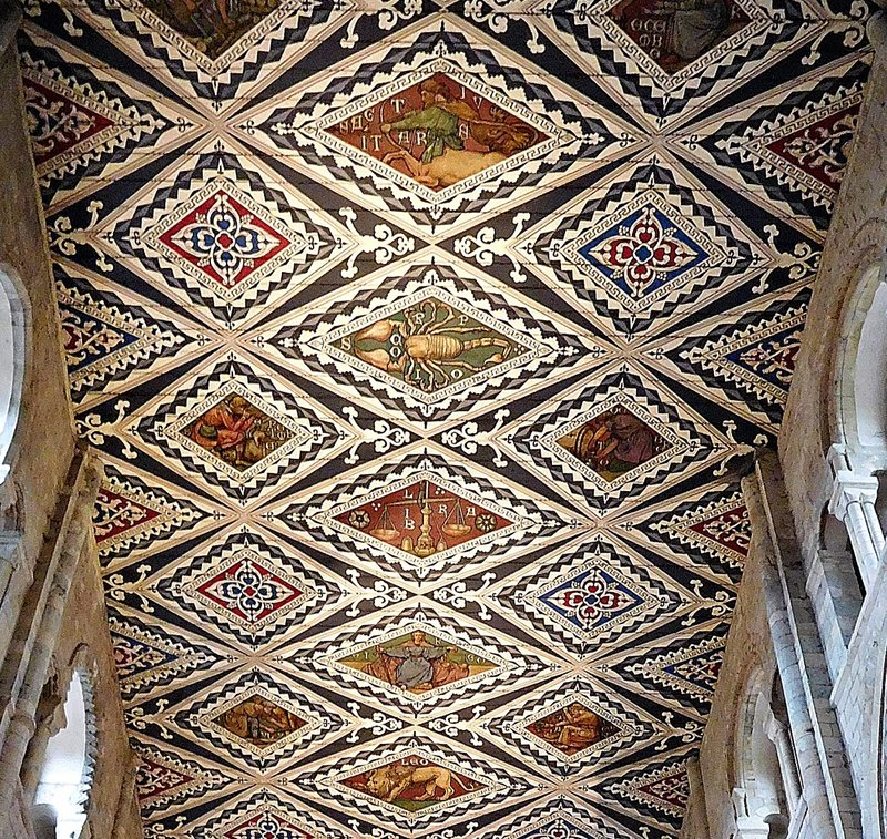 Ceiling detail Waltham Abbey Church