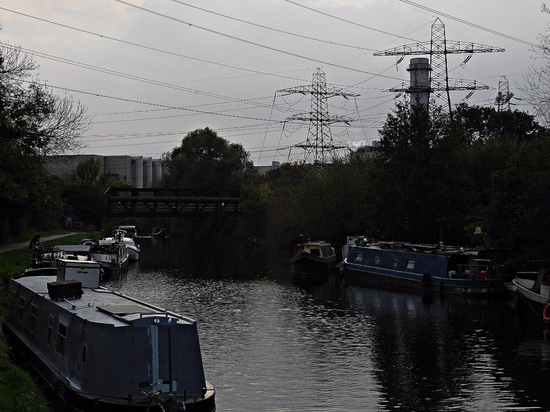 Between Enfield Lock and Ponders End