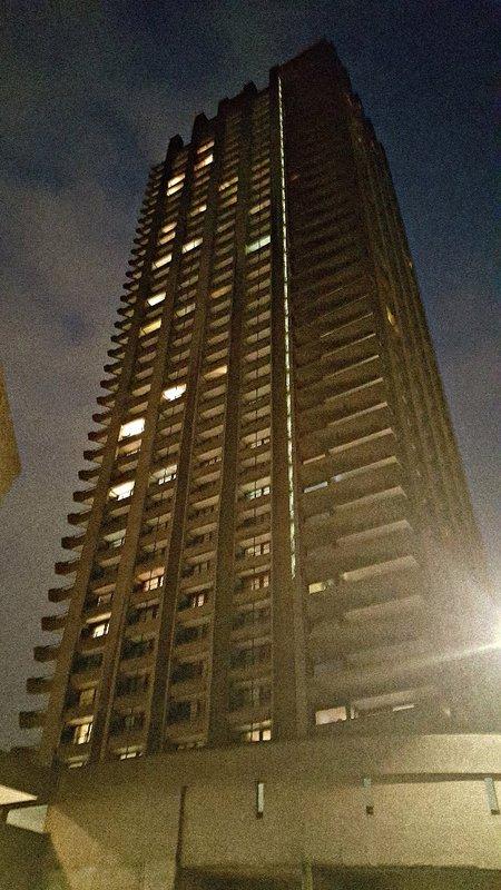Barbican: a skyscraper