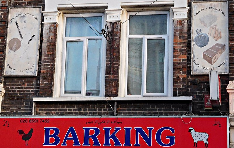 Barking: old shop signs