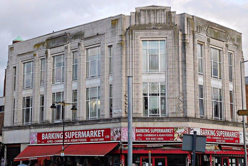 Old Burtons store in Barking's East Street