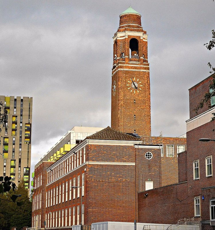 Barking Town Hall tower
