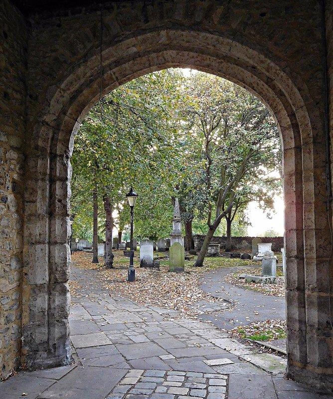 Barking Abbey view from Curfew Twr