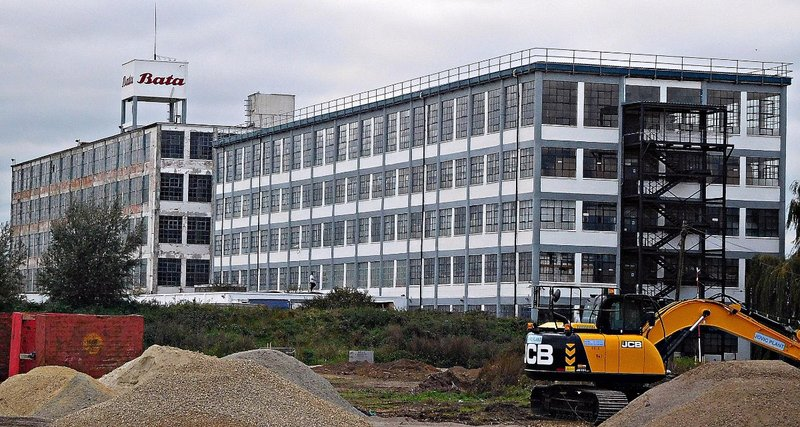 BATA 4d Bata factory buildings