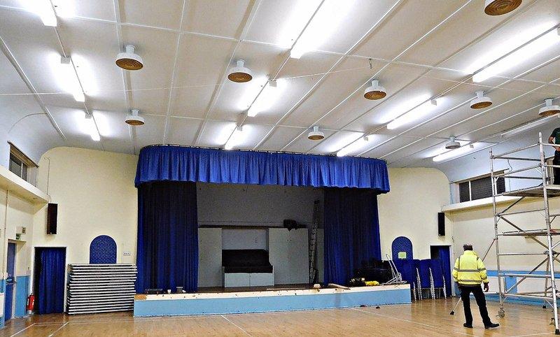 BATA 4j Bata cinema hall stage