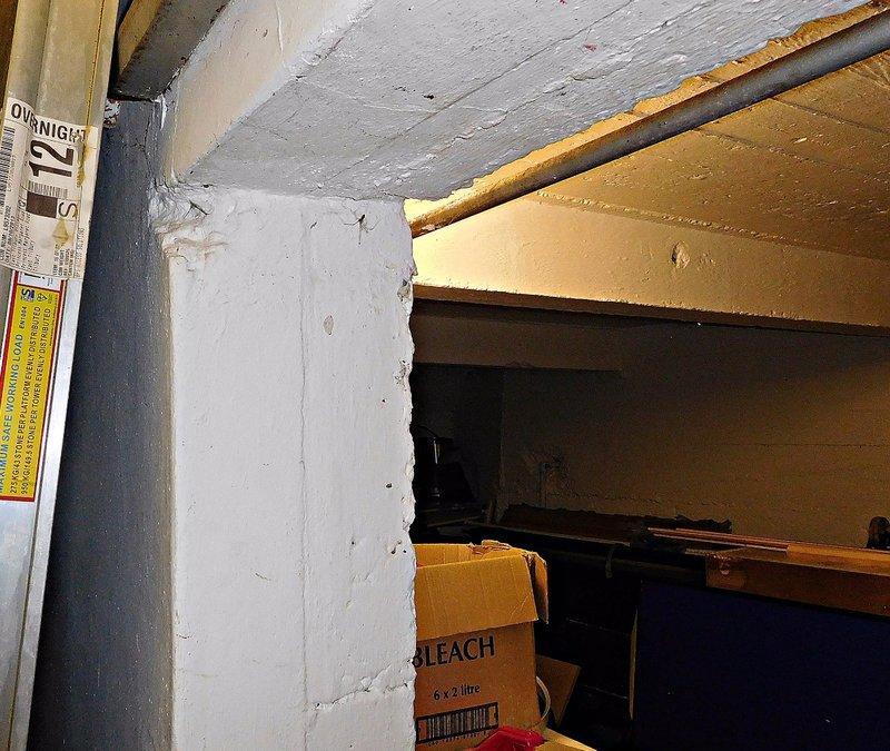 BATA 4n Bata cinema thick walls of under stage bunker