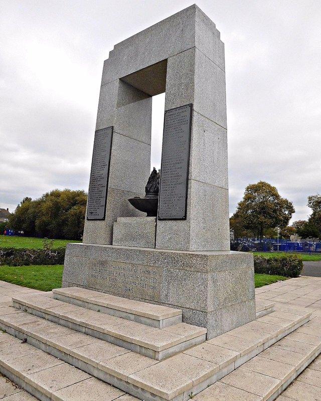 BATA 5a Bata war memorial WW2