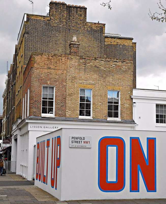 Lisson Gallery: Bell Street branch