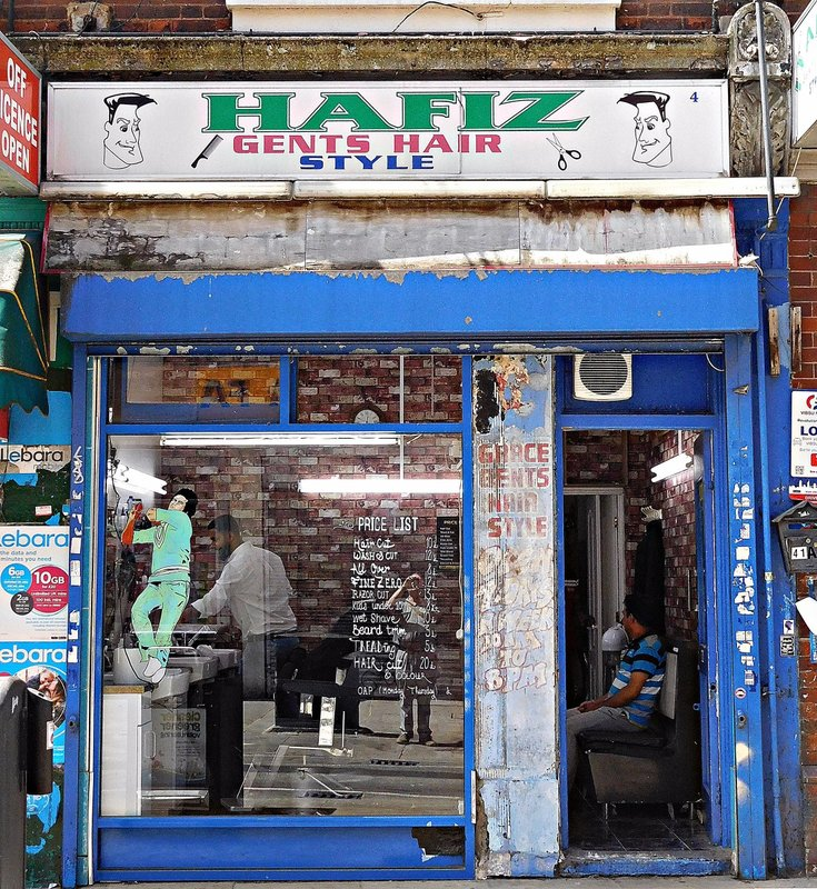 Hafiz barber shop, Brick Lane