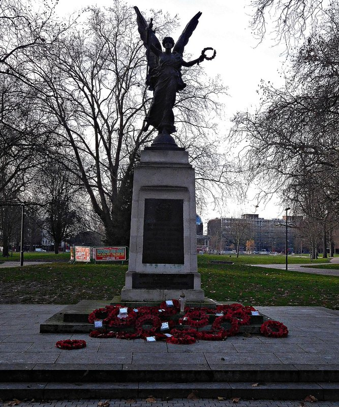 Shepherds Bush Green war memorial