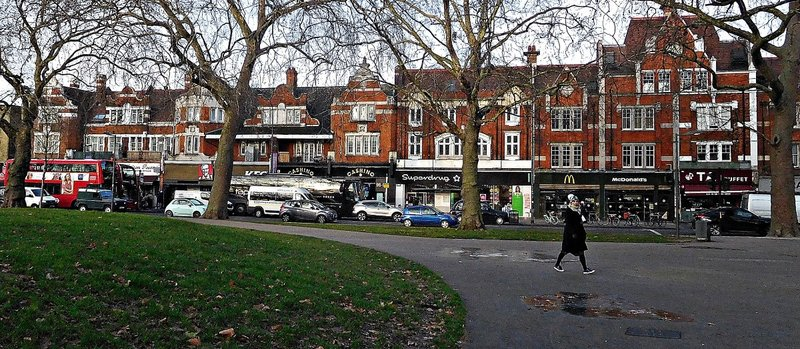 Shepherds Bush Green north side