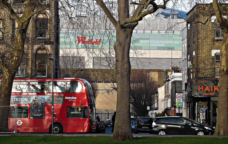 Shepherds Bush Green view of Westfield