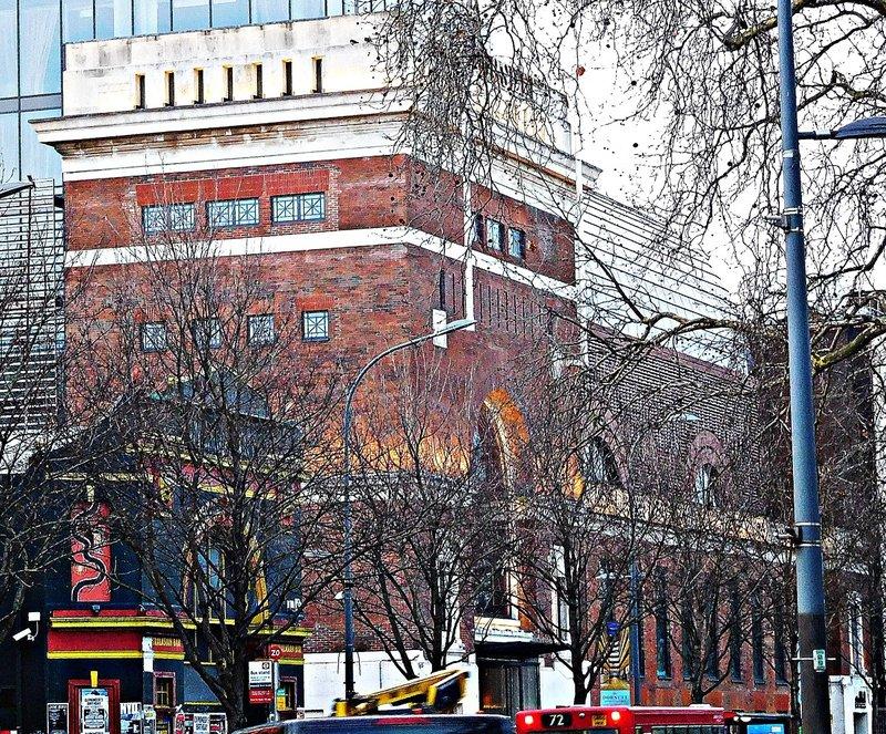 The former Palladium and Pavilion cinemas Shepherds Bush Green