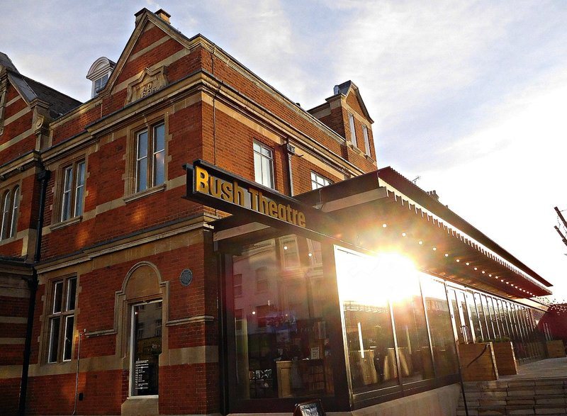 Bush Theatre 1895 and its new extension