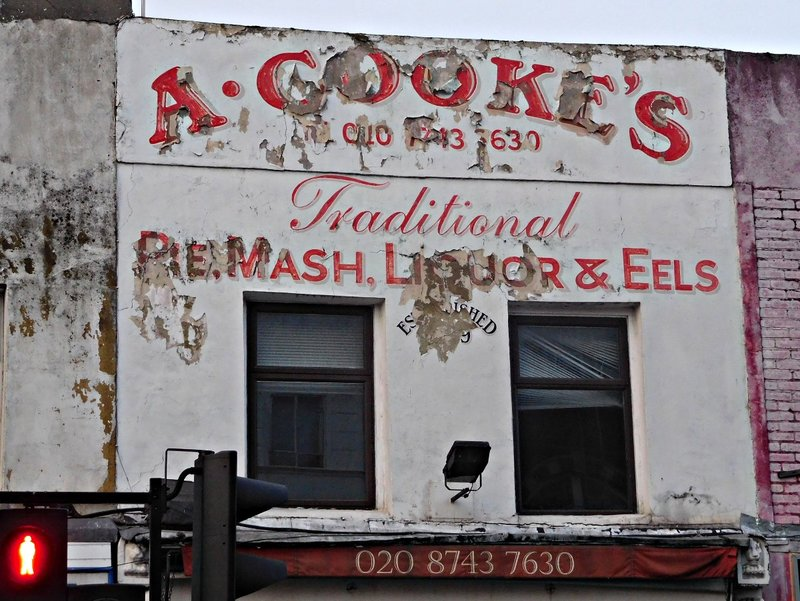 A Cooke's  former pie shop