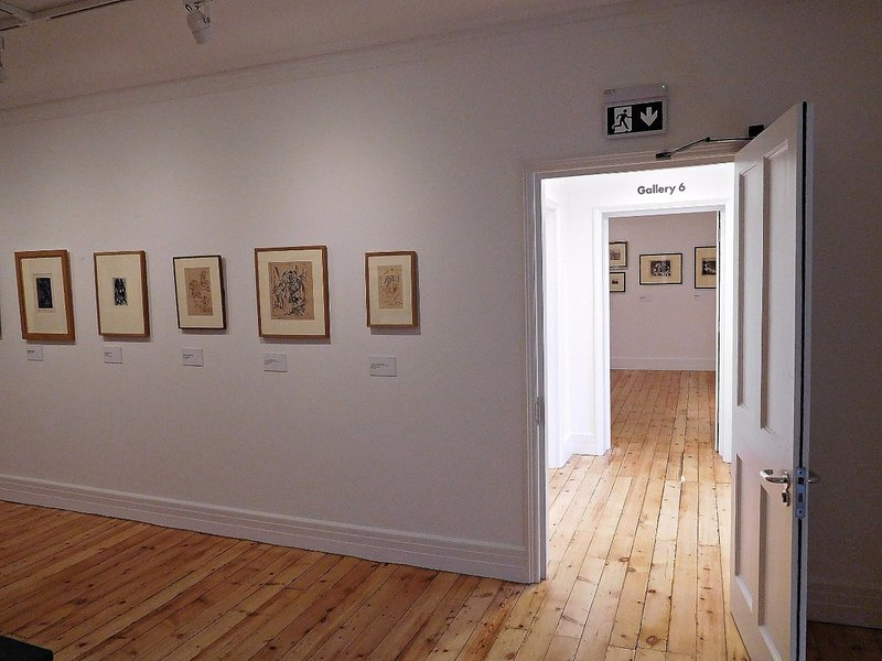 ESTORICK: an upstairs gallery