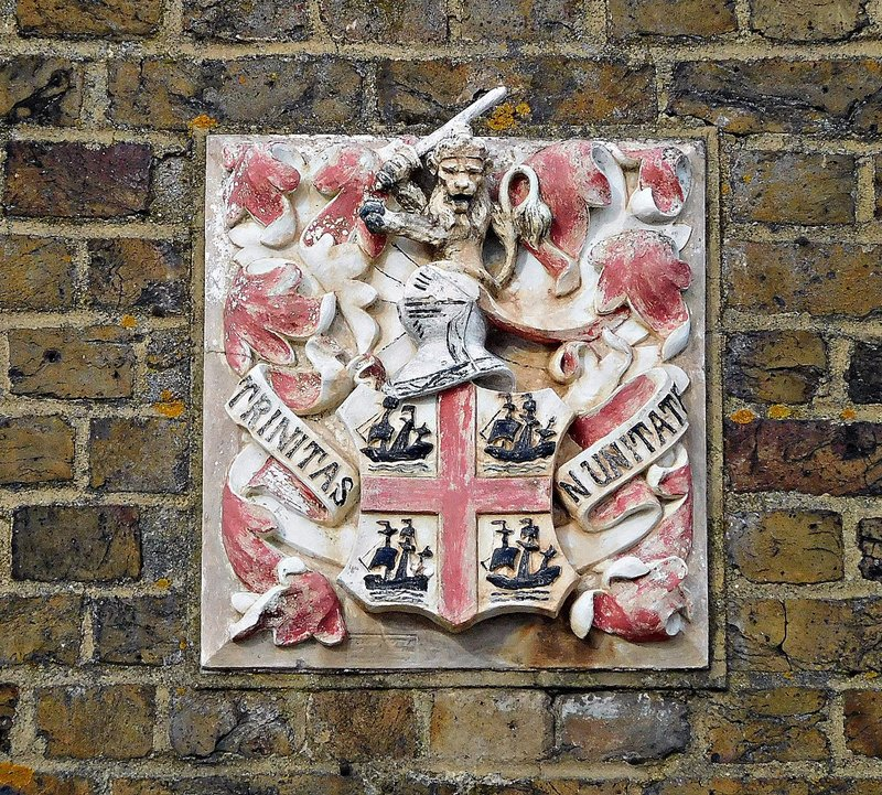 Trinity Buoy Wharf:  Trinity House crest