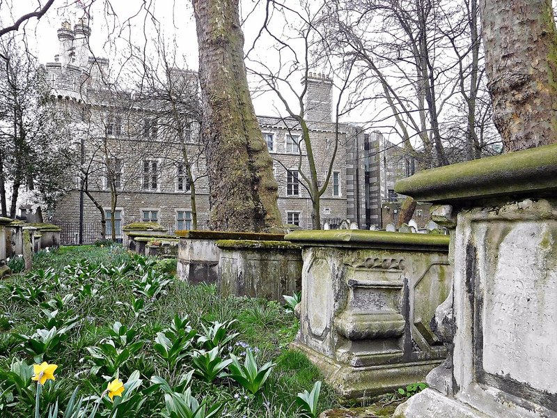 BUNHILL FIELDS with Finsbury Barracks