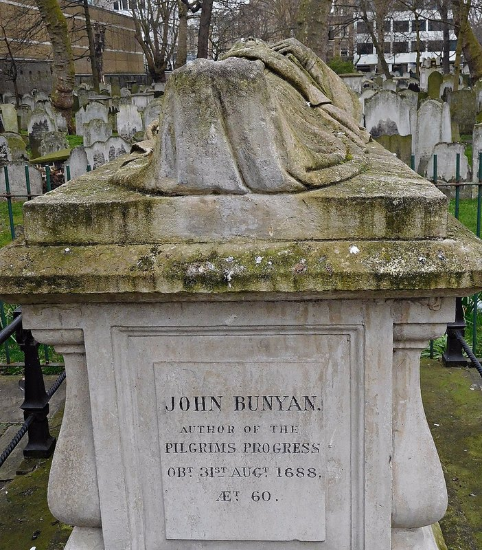 BUNHILL FIELDS: John Bunyan